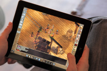 Baldur's Gate Enhanced Edition na iPadzie