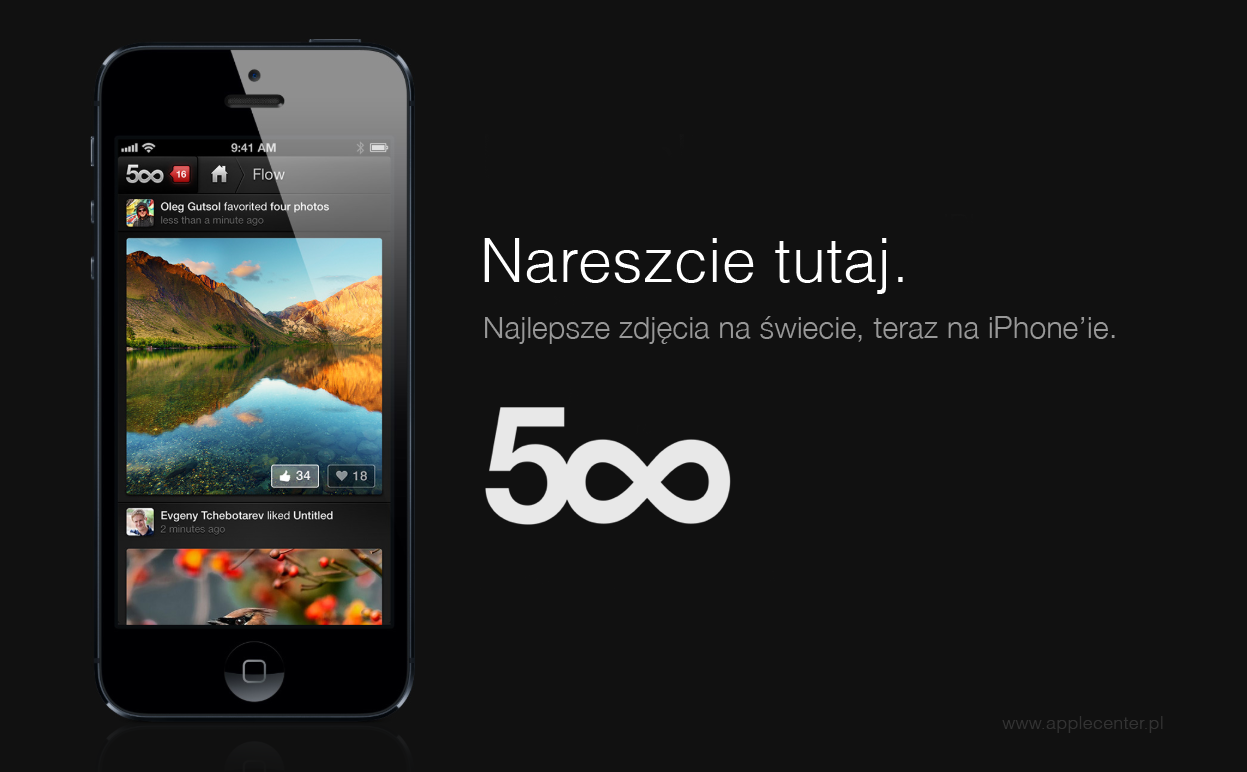 500px - iOS (iPhone, iPad, iPod touch)