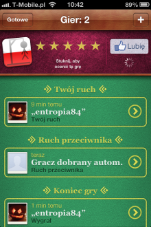 Wisielec - iOS (iPhone, iPod touch, iPad)