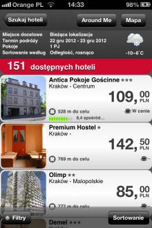 iHotel - iOS (iPhone, iPad, iPod touch)