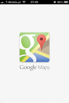 Mapy Google - iOS (iPhone)