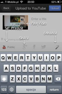 YouTube Capture - iOS (iPhone, iPod touch)