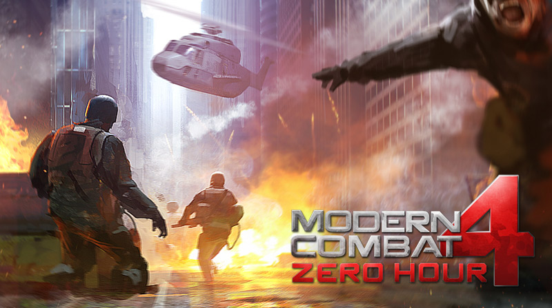 Modern Combat 4: Zero Hour - iOS (iPad, iPhone, iPod touch)