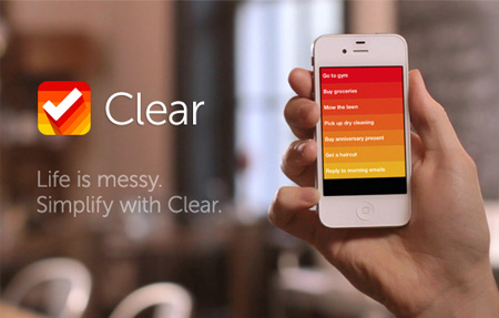 Clear - iOS (iPhone, iPod touch) & Mac OS X