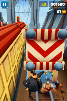 Subway Surfers - iOS (iPhone, iPad, iPod touch)