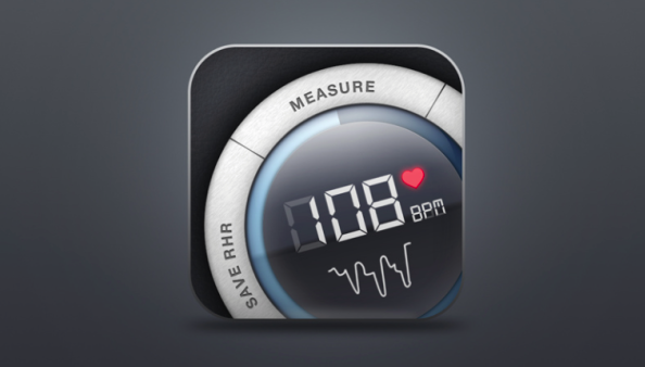 Instant Heart Rate - iOS (iPhone, iPod touch)