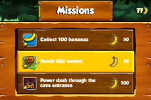 Banana Kong - iOS (iPhone, iPad, iPod touch)