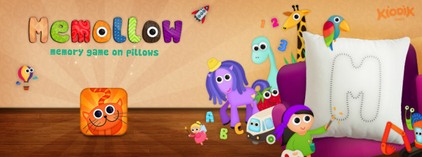 Memollow - Memory Game on Pillows for Kids - iOS (iPad)
