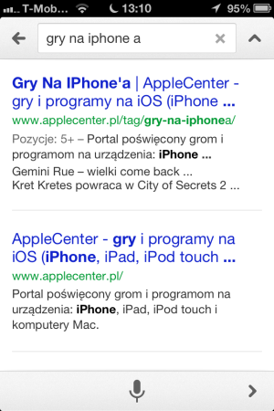 Google Search Now - iOS (iPhone, iPod touch, iPad)