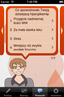 MyDiab - iOS (iPhone)
