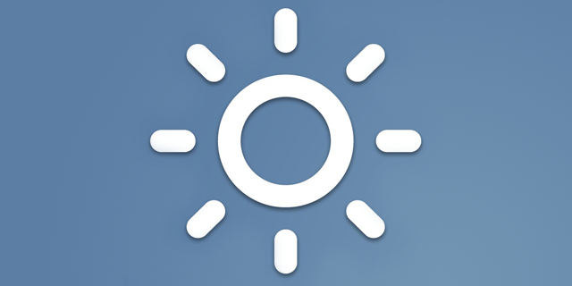Just Weather - iOS (iPad)