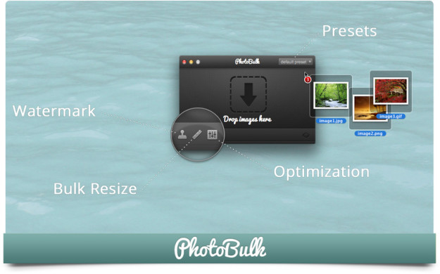 Photo Bulk: Watermark, Resize and Optimize - Mac OS X
