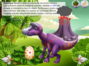 DinoClub - Świat Dinozaurów - iOS (iPhone, iPad, iPod touch)