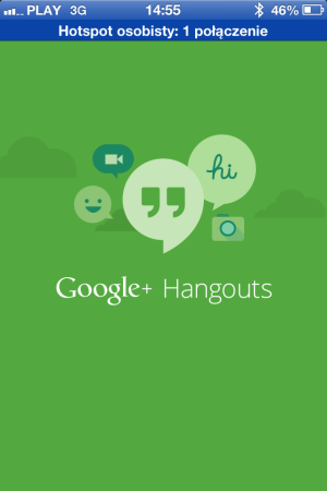 Google Hangouts - iOS (iPhone, iPad, iPod touch)