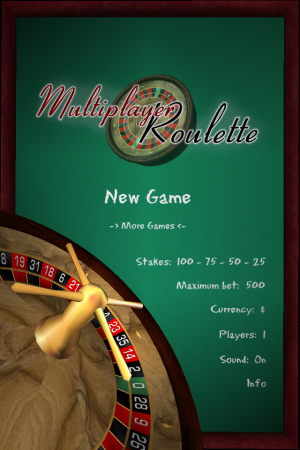 Multiplayer Roulette - iOS (iPhone, iPod touch, iPad)