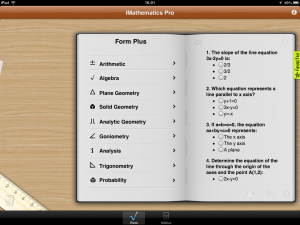 iMathematics Pro - iOS (iPhone, iPad, iPod touch)