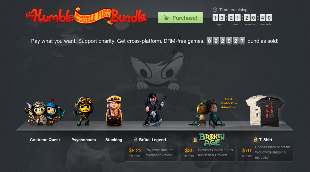 Humble Double Fine Adventure