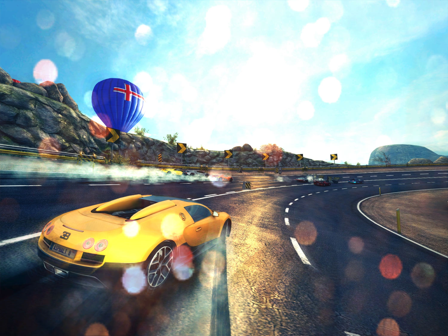 Asphalt 8 - iOS (iPhone, iPod touch, iPad)