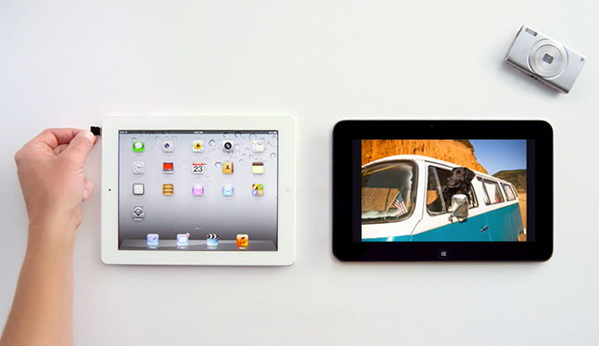 Microsoft vs. iPad