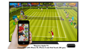 Motion Tennis - iOS (iPhone, iPod touch) - Rolomotion