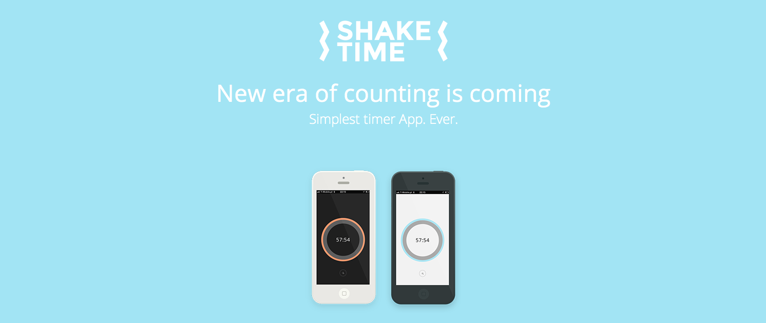Shake Time - iOS (iPhone, iPod touch)