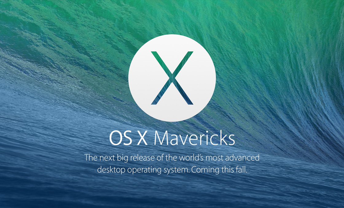 Mac OS X Mavericks - WWDC 2013