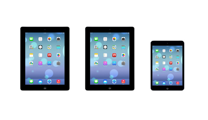 iOS 7 - iPad & iPad mini