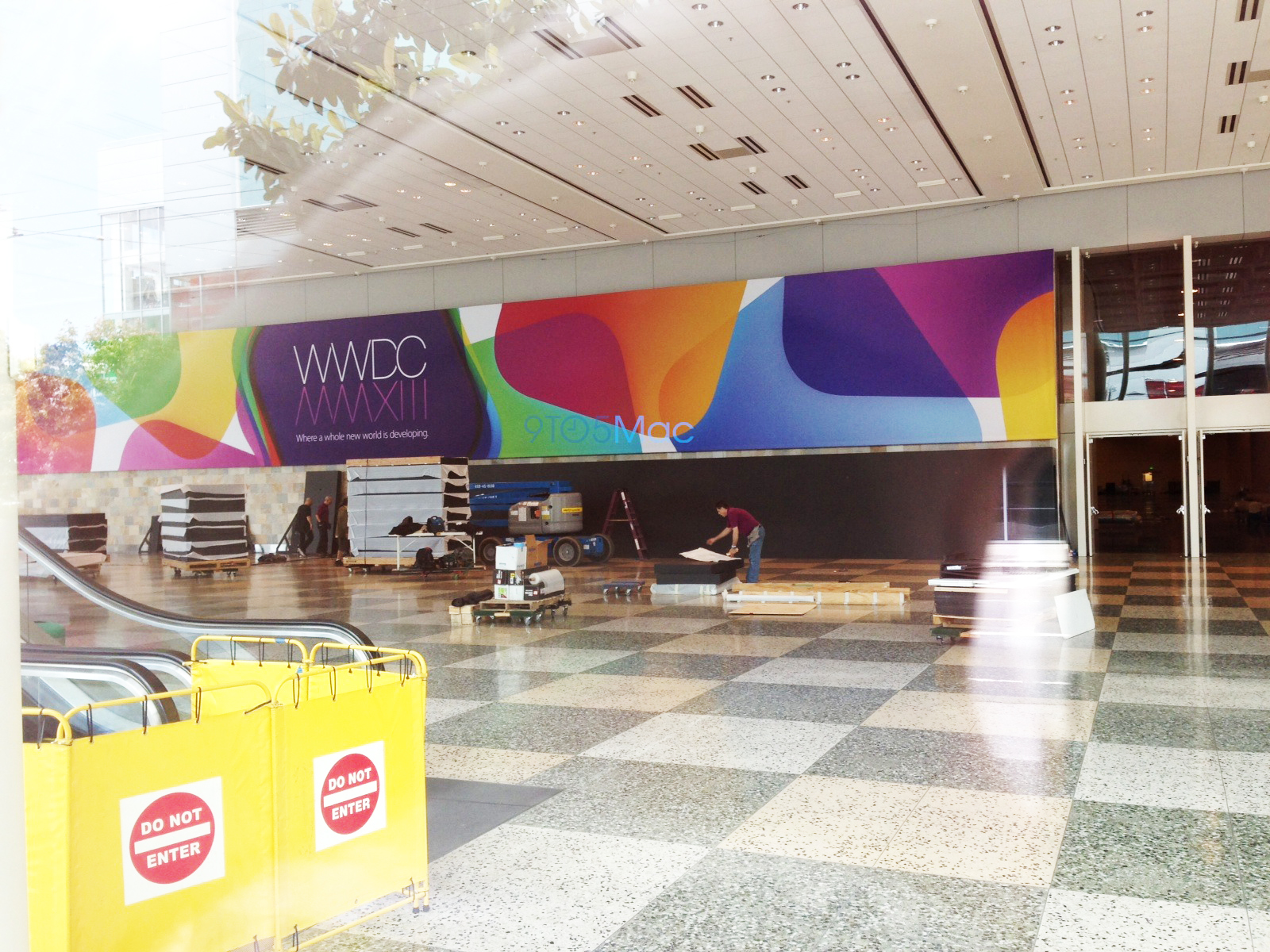 WWDC 2013 - Moscone West w San Francisco