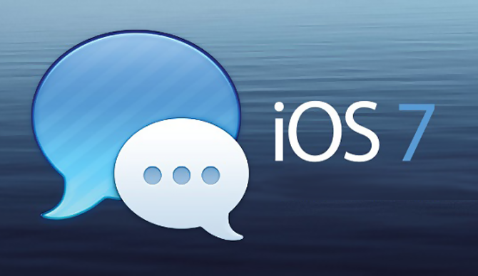 iOS 7 iMessage