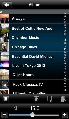 Denon Remote App - iOS (iPhone, iPod touch)