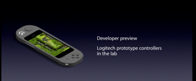 Kontroler do gier na iPhone'a - Logitech