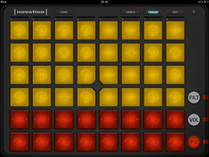 Novation Launchpad - iOS (iPad)