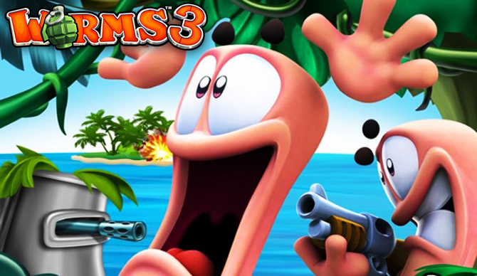 Worms 3 - iOS (iPhone, iPod touch, iPad)