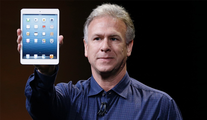 iPad mini 2 - Phil Schiller