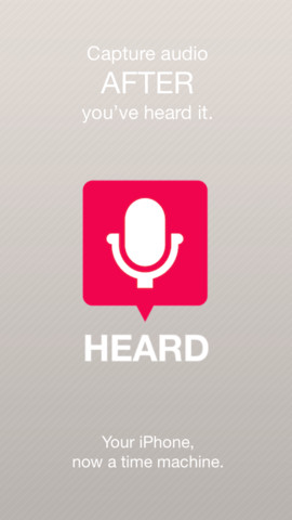 Heard - iOS (iPhone, iPod touch)