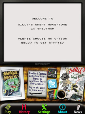 Willy's Great Adventure: ZX Spectrum - iOS (iPhone, iPod touch, iPad)