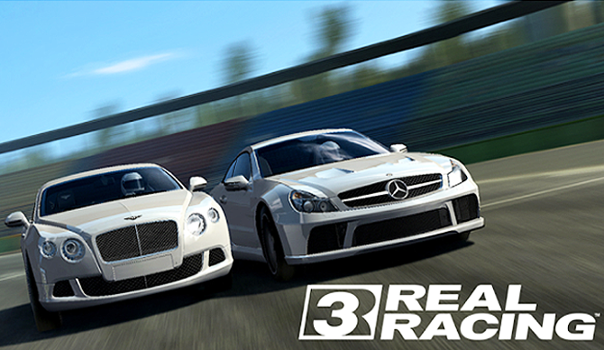Real Racing 3 - Bentley & Mercedes-Benz