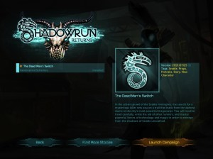 Shadowrun Returns - Mac OS X