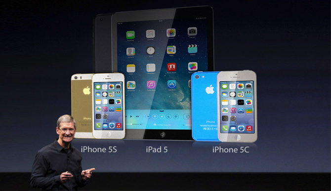 Tim Cook - Keynote - iPhone 5C, iPhone 5S, iPad 5