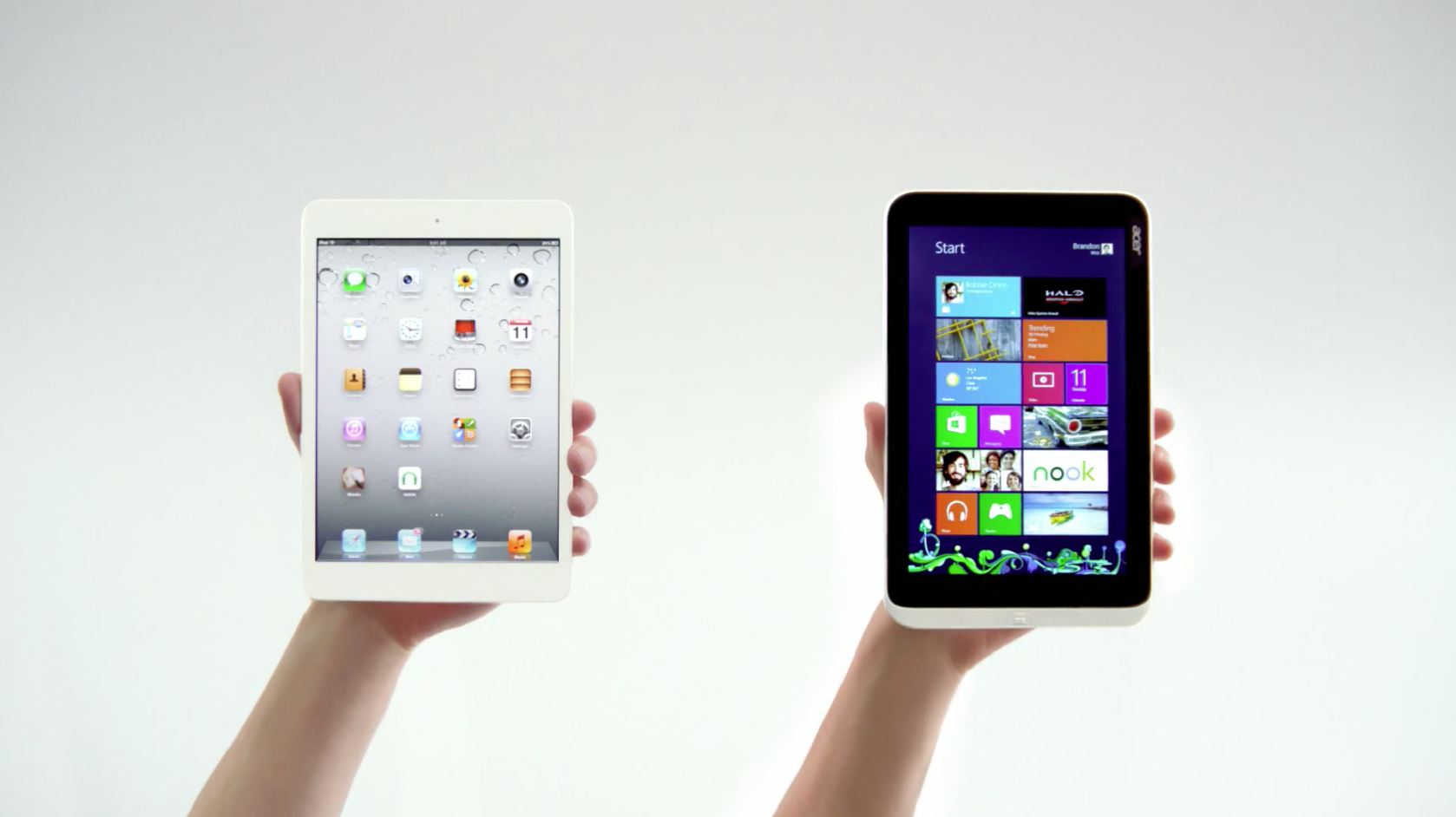 Acer Iconia W3 vs. iPad Mini