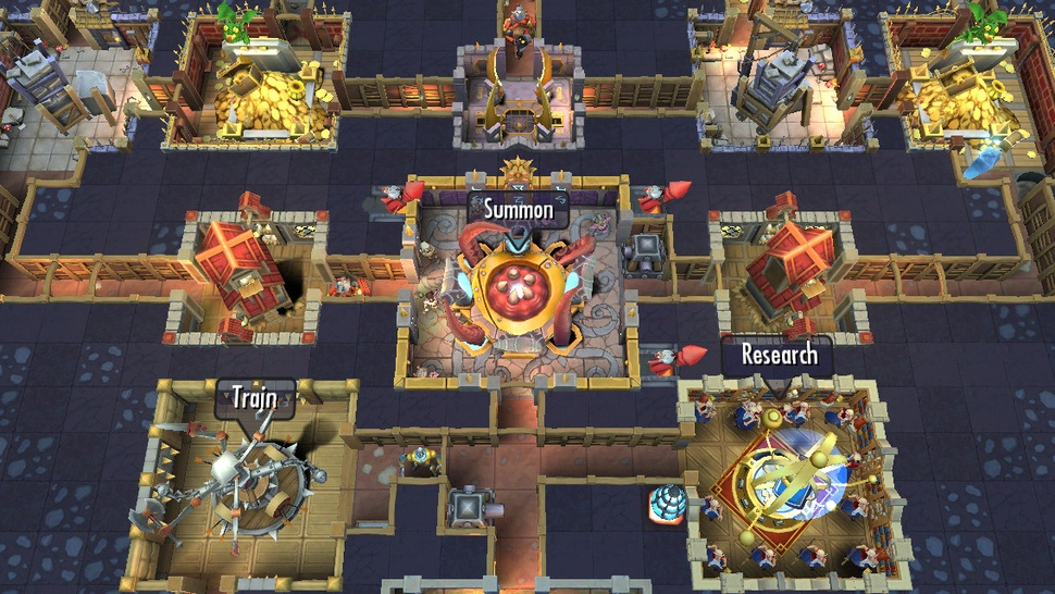 Dungeon Keeper - iOS (iPhone, iPad, iPod touch)