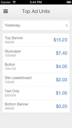 Google AdSense - iOS (iPhone, iPod Touch)