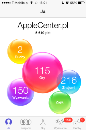 Game Center - iOS 7