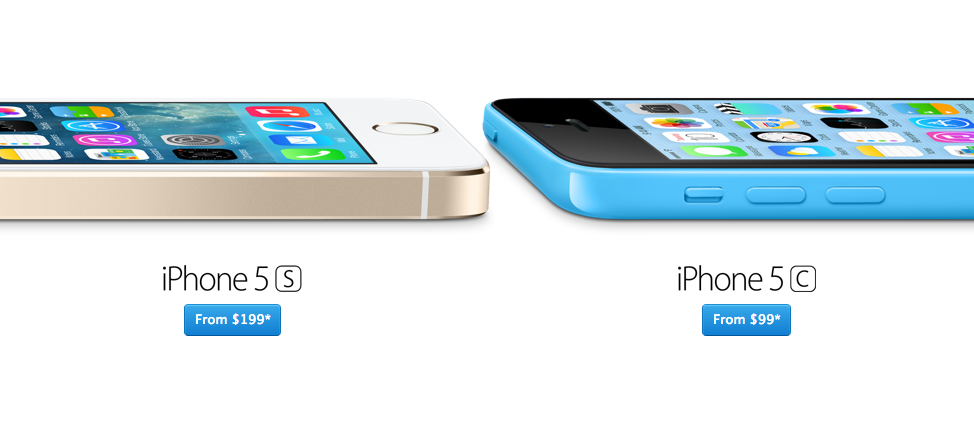 iPhone 5C vs. iPhone 5S