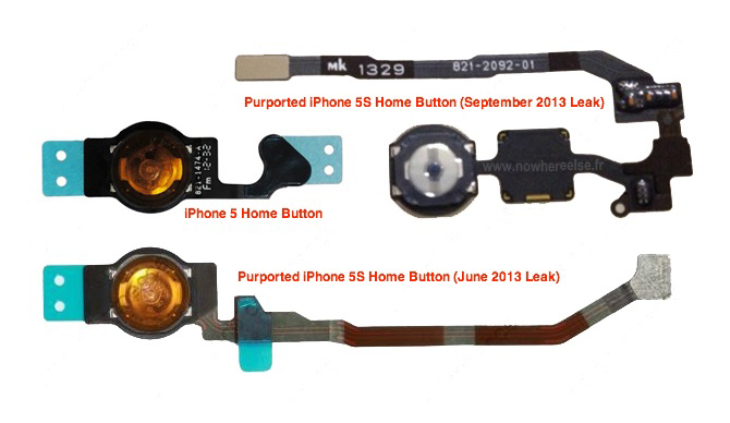 iPhone5S Home Button