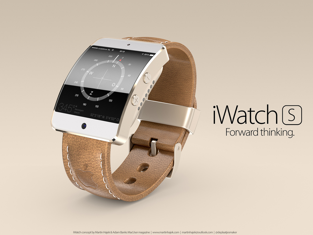 iWatch S by Martin Hajek