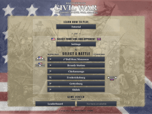 Battlefields Civil War