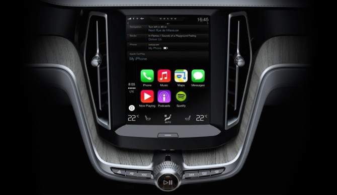 Volvo XC90 - CarPlay
