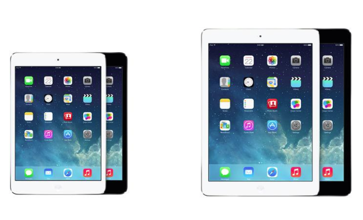 iPad mini Retina i iPad Air