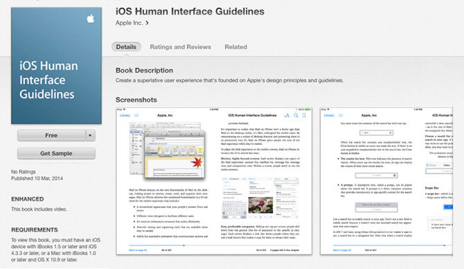 iOS Human Interface Guides
